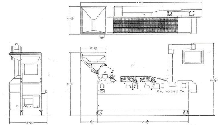 RW Hartnett Model C Printer Floor Plan