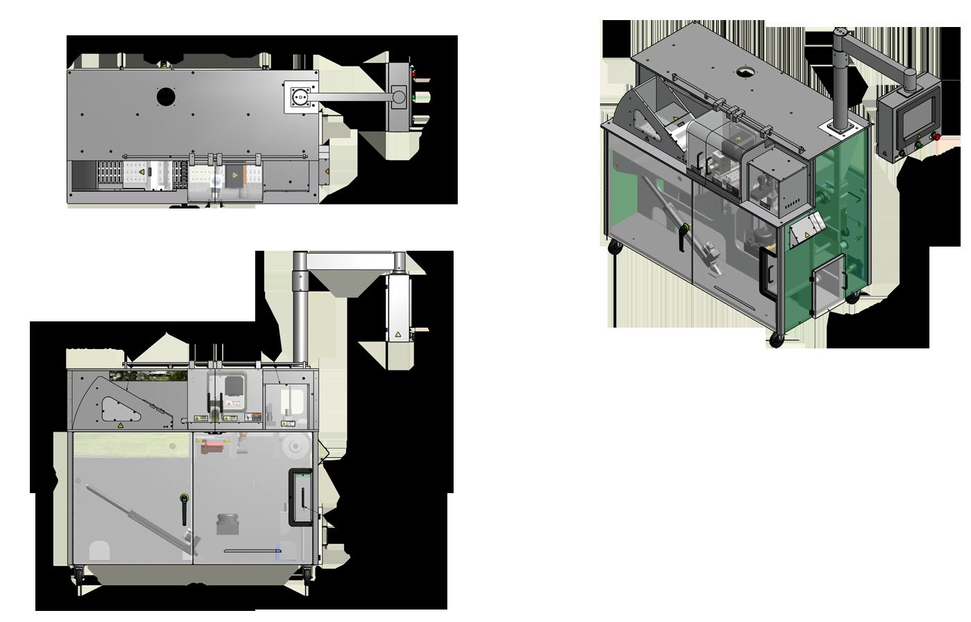 H-Track Laser Writer Machine - RW Hartnett Company